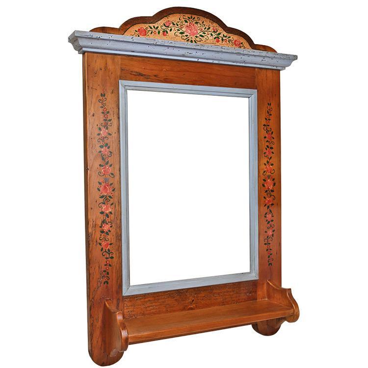 Rustic mirror frames