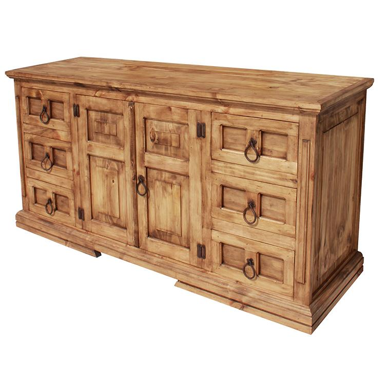 rustic furniture mansion mexican rustic pine dresser