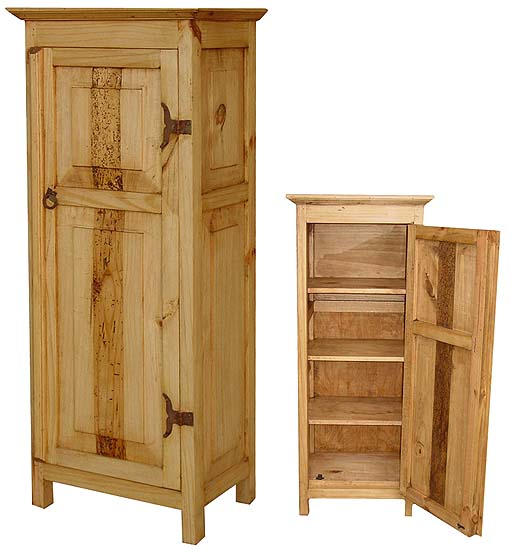Rustic Pine Kitchen Cabinets: Colorado Mexican Rustic Pine Cabinet