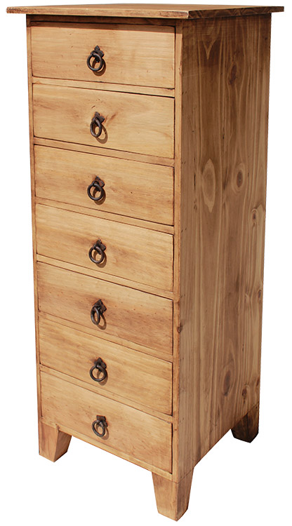Rustic furniture alto lingerie mexican rustic pine dresser for Mexican pine bedroom furniture