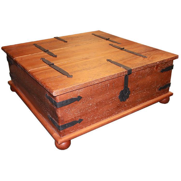 Rustic Furniture Southwestern Rustic Herrajes Trunk