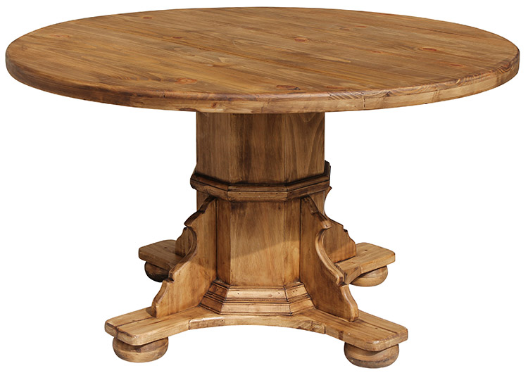 Buy Pedestal Table Base Dining With Leaf