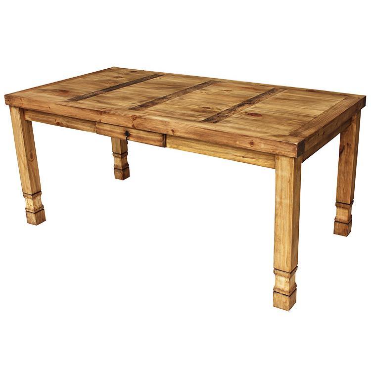 Rustic Furniture Medium Julio Mexican Rustic Pine Dining Table