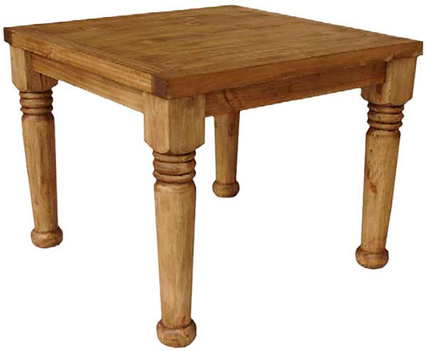 Margarita Mexican Rustic Pine Dining Table