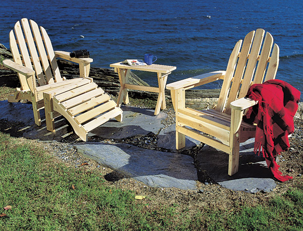 Rustic Furniture Adirondack Chair Outdoor Patio Cedar Log Furniture