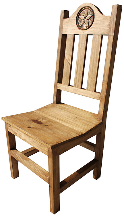 Rustic Furniture Lone Star Mexican Rustic Pine Chair