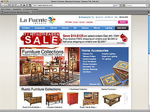 La Fuente Imports Is Proud To Bring You The Finest In Home Décor From Mexico  And All Over The World! Unique, High Quality Rustic Furniture Collections  That ...
